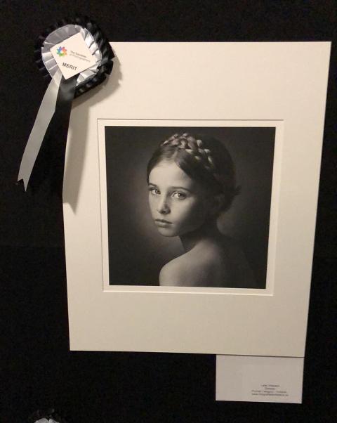Bilden Freckles blev finalist i SWPP print competition 2019